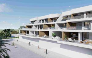 Villacosta Club Terrace, 2 soveroms leilighet nær golfbanen i Villamartin