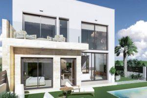Daras Villas, 3 soveroms Villa med privat basseng i Daya Vieja