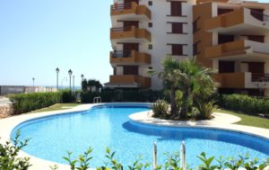 La Recoleta 3, 2 soveroms leiligheter ved stranden ved Punta Prima