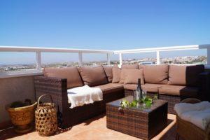 2 soveroms fantastisk Penthouse leilighet med utrolig utsikt i Torrevieja