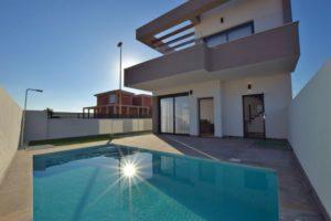 Villa Alba Salinas, 3 soveroms flott villa i Los Montesinos