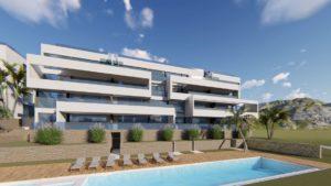 Limonero Apartments, 2 soveroms romslige luksusleiligheter med fantastisk utsikt over Las Colinas Golf