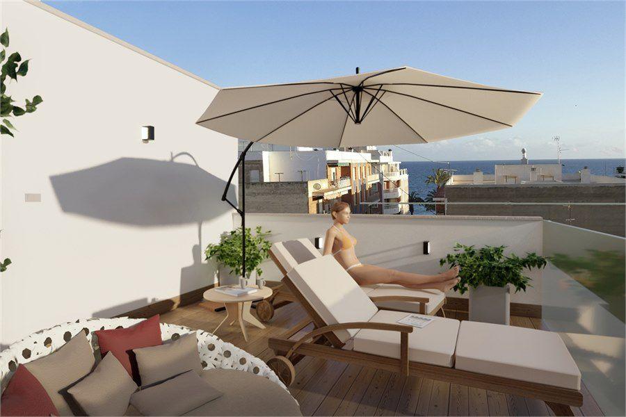leilighet i Spania