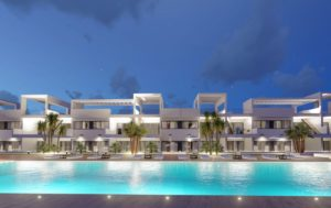 Sunny Hills Resort, 2 Soveroms Leilighet med spektakulær utsikt i Finestrat