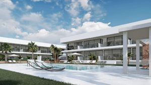 Antilia Terraces II, 3 soveroms Leiligheter i nydelige Mar de Cristal