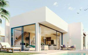 Villas Alamos, 3 Soveroms Villa nær strendene i Mar Menor i Mar de Cristal